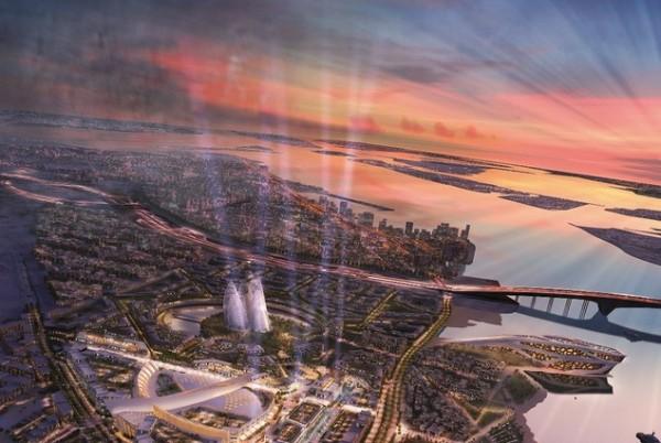 Αποψη του εμπορικου κεντρου που θα χτισει η louis vuitton στα Ηνωμενα Αραβικα Εμιρατα απο το DoseNea.gr