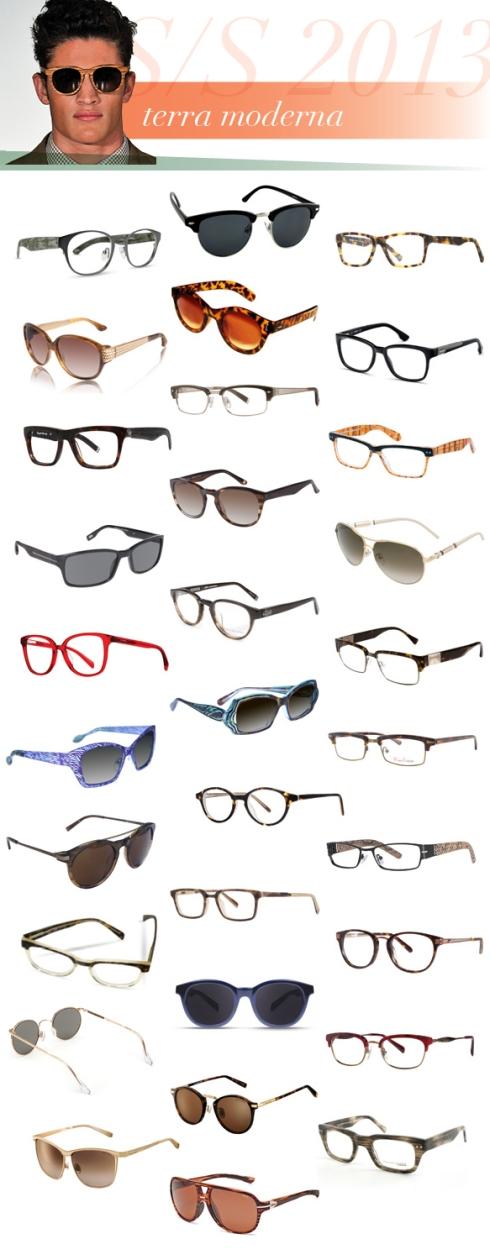 Από αριστερά προς τα δεξιά και από πάνω προς τα κάτω τα γυαλιά είναι:  Cinzia, Innovator; Crave, Club; Dakota Smith Los Angeles, Relentless; David Yurman, DY-075; Desert Sunglass, LA16306; Diesel, DL5032; English Laundry, Hooky; English Laundry, Moz; ete, Cogolin; EVATIK, 1021; GANT, Borea; Givenchy, SGV-454; Jil Sander, JS 2693; John Varvatos, V353; KATA, K303; Lafont, Lome; Lafont, Long Beach; Mario Galbatti, MG139; Michael Kors, Jameson; Modz, Pocatello; Nicole Miller, Christie; Ogi Eyewear, 3112; Original Penguin, The Frankie; Original Penguin, The Poindexter; Randolph Engineering, P3P1411; Scott Harris, SUN-02; Seraphin, Dale; Trussardi, TR12838; Trussardi, TR12918; William Morris London, WM6915; Zeal Optics, Darby